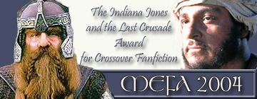 First Place - MEFA 2004 Banner Design - Crossovers