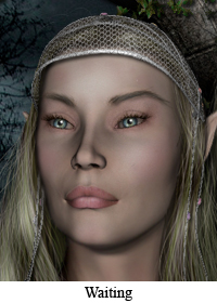 Waiting - Galadriel and Celeborn